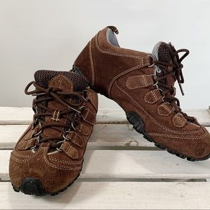 Columbia Tenacity Suede Brown Lace Up Hiking Trail